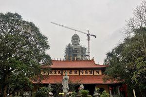Hà Nội: Cận cảnh Đại Tượng phật lớn nhất Đông Nam Á