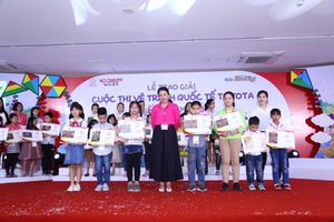 160 giải thưởng được trao tại Cuộc thi Vẽ tranh Quốc tế Toyota 'Chiếc ô tô mơ ước' lần 8