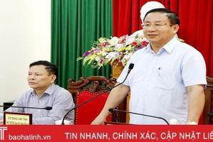 Bí thư Tỉnh ủy Hà Tĩnh giải đáp thấu đáo kiến nghị của công dân tại buổi tiếp định kỳ tháng 3/2019