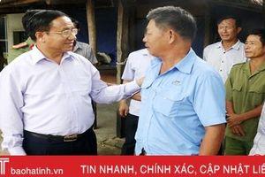 Bí thư Tỉnh ủy Hà Tĩnh tiếp dân theo Quy định 11 của Bộ Chính trị