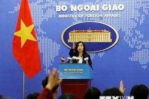 'Trung Quốc phải tôn trọng chủ quyền Hoàng Sa, Trường Sa của Việt Nam'