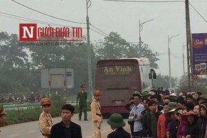 Nóng: Khởi tố vụ xe khách đâm đoàn đưa tang tại Vĩnh Phúc