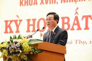 Phú Thọ: Tân Chủ tịch UBND tỉnh ra mắt