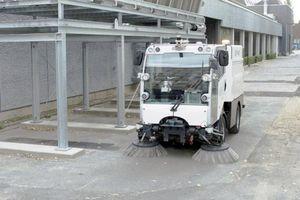 Singapore thử nghiệm xe quét đường không người lái