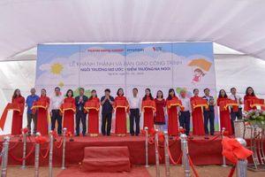 Thêm 'Ngôi trường mơ ước' được khánh thành tại Nghệ An