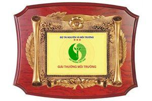 Hà Nội giới thiệu, đề nghị xét tặng Giải thưởng Môi trường Việt Nam năm 2019