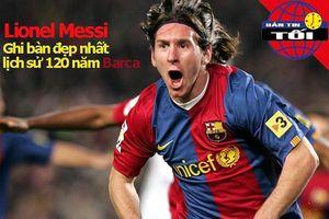 Messi nhận giải bàn thắng đẹp nhất, Tim Cahill giải nghệ