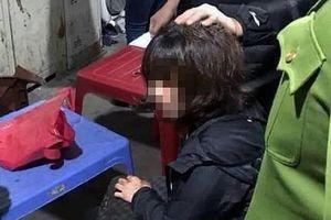Hình sự bắt nghi phạm nổ súng, cướp tài sản ở chợ Long Biên