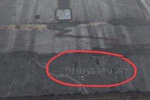 Du khách viết 'Tú love Nhung' trên đỉnh Fansipan gây bức xúc dân mạng