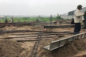 Huyện Hoài Đức dỡ bỏ công trình xây dựng sai quy hoạch