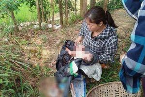 Nghe tiếng khóc trên đồng, người dân phát hiện một bé gái bị bỏ lại
