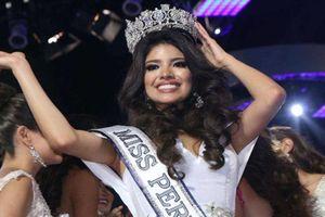 Hoa hậu Peru 2018 bị tước vương miện vì bê bối say xỉn