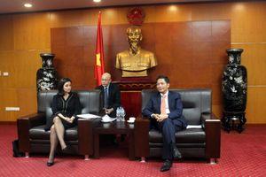 Bộ trưởng Trần Tuấn Anh tiếp Đại sứ đặc mệnh toàn quyền Cộng hòa Bungari tại Việt Nam