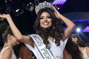 Hoa hậu Peru bị tước vương miện vì bê bối say xỉn