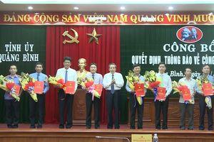 Quảng Bình: Điều động, bổ nhiệm 10 cán bộ chủ chốt