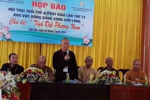 Nhiều hoạt động ý nghĩa tại Hội trại Tuổi trẻ và Phật giáo
