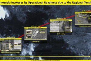 Ảnh vệ tinh tiết lộ Venezuela triển khai S-300 của Nga giữa lúc căng thẳng