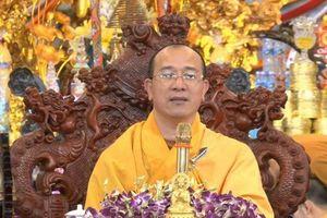 Xem xét kỷ luật sư trụ trì chùa Ba Vàng vào tháng 4