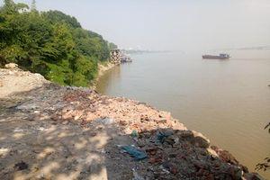 Phế thải 'bức tử' sông Hồng: Bài 4 – PC05, Công an TP Hà Nội vào cuộc