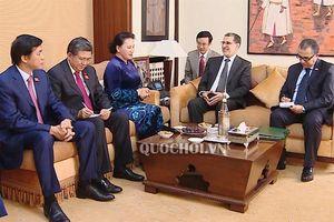 Chủ tịch Quốc hội Nguyễn Thị Kim Ngân hội kiến Thủ tướng Chính phủ Vương quốc Maroc