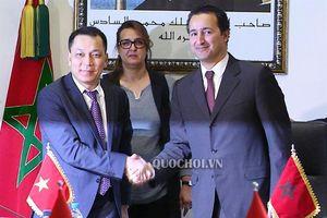 Chủ tịch Quốc hội Nguyễn Thị Kim Ngân tiếp Hội hữu nghị Maroc – Việt Nam