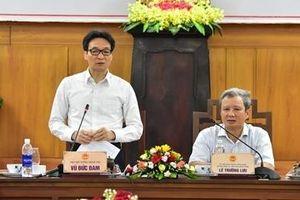 Phó Thủ tướng Vũ Đức Đam kiểm tra công tác thực hiện Nghị quyết 33-NQ/TW tại Thừa Thiên - Huế