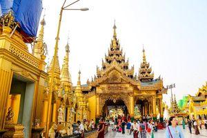 Khám phá ngôi chùa được làm từ 70 tấn vàng linh thiêng nhất Myanmar