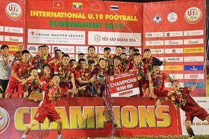 Đánh bại Thái Lan, U19 Việt Nam vô địch giải quốc tế trên sân nhà