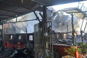 Cháy quán càphê ở ngõ Quỳnh, 2 người thương vong