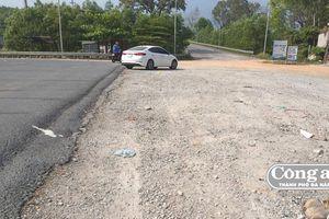 Quan ngại chất lượng một số đoạn Quốc lộ 1A qua TT-Huế