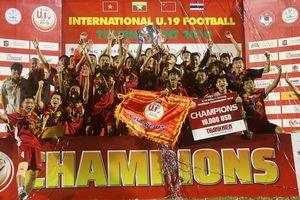 'Tiểu Công Phượng' lập công, Việt Nam vô địch giải bóng đá U19 quốc tế 2019