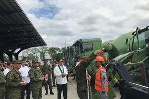 Trung Quốc viện trợ thêm cho quân đội Philippines dàn thiết bị quân sự 19 triệu USD