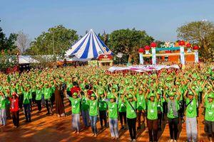 Hơn 1.700 bạn trẻ tham gia Hội trại Tuổi trẻ Phật giáo tại Cần Thơ