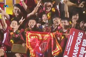 Việt Nam vô địch giải U19 quốc tế: người Thái lại thua!