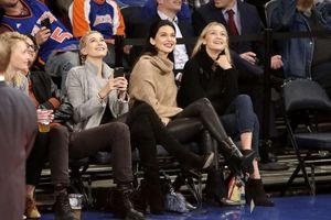 Đi xem bóng rổ, Kendall Jenner, Rihanna cũng phải trưng trổ thời trang chất phát ngất