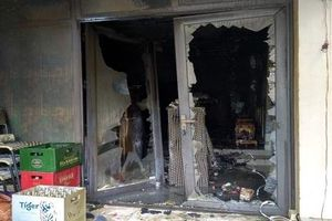 Hà Nội: Cháy quán cà phê, 2 người thương vong
