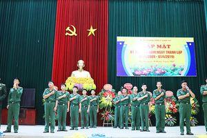 Gặp mặt kỷ niệm 10 năm ngày thành lập Tiểu đoàn Thiết giáp 47