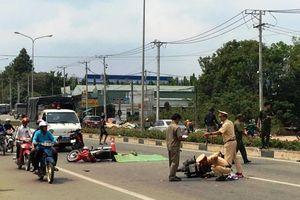 Bình Dương: Xe máy đâm liên hoàn khiến 4 người thương vong