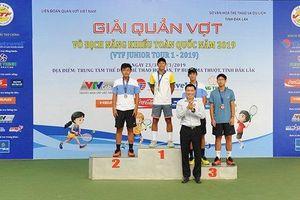 Đoàn TP Hồ Chí Minh nhất toàn đoàn Giải quần vợt năng khiếu toàn quốc