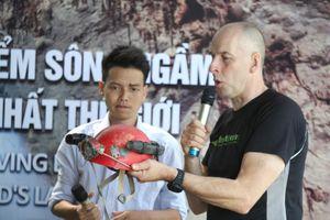 Quảng Bình: Lặn tìm dòng sông 'mất tích' trong hang Sơn Đoòng