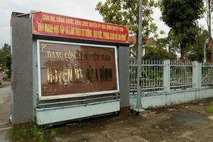 Bạc Liêu: Kỷ luật Đảng Phó Bí thư Huyện ủy Hòa Bình