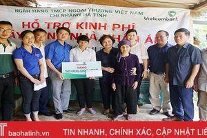 Vietcombank Hà Tĩnh khởi xây nhà nhân ái cho hộ nghèo Hương Khê