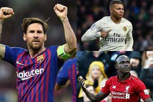 Cuộc đua 'Chiếc giày Vàng' châu Âu 2018/2019: Messi cô đơn trên đỉnh