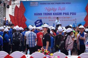 Quảng Ngãi: Ngày hội khám phá Trường ĐH Phạm Văn Đồng