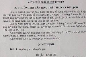 Trường Dạy làm báo Huỳnh Thúc Kháng được xếp hạng Di tích Quốc gia
