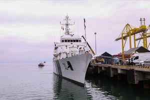 Cận cảnh tàu lực lượng bảo vệ bờ biển Ấn Độ thăm Đà Nẵng
