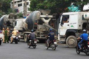 Xử lý tình trạng xe bồn lưu thông trái phép vào khu dân cư giờ cao điểm