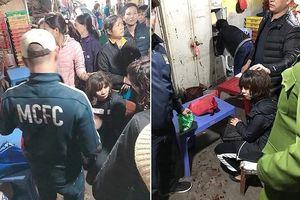 Tặng giấy khen các đơn vị phá vụ án dùng súng cướp tiền ở chợ Long Biên
