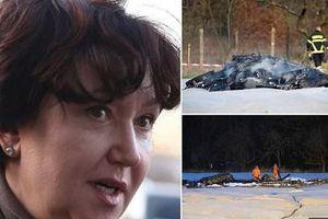 Hiện trường rơi trực thăng ở Đức, nữ triệu phú Nga thiệt mạng