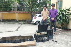 Thợ điện chuyên trộm loa đài tại các công sở mang về cửa hàng để bán
